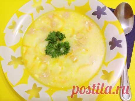 Сырный суп с сосисками - рецепт с фото пошагово