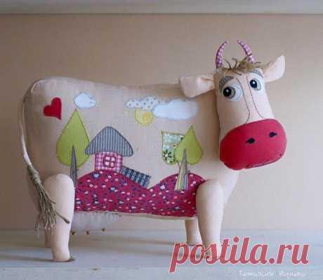 Шаблон Подушки корова   DIY - PatronesMil