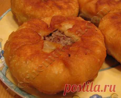 Беляши с мясом на кефирном тесте Рецепты домашней выпечки от Ирины Хлебниковой