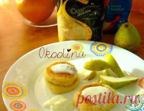Сырники с грушей без яиц – кулинарный рецепт