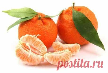 Peel and leaves of tangerine in the medical purposes.