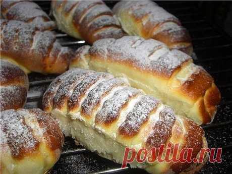 Булочки Крем-де-Паризьен - лучший сайт кулинарии