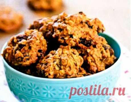 Как приготовить печенье с творогом, овсянкой и бананом?