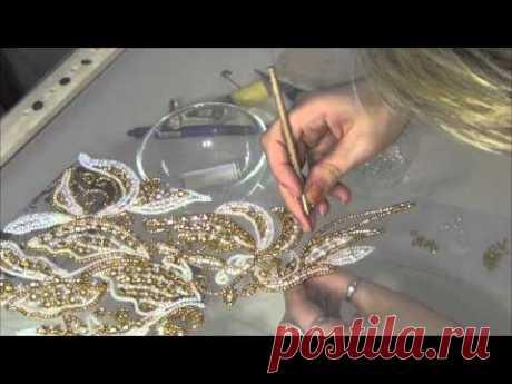 El bordado Lyunevilsky de Victoria Boyko (el bordado lyunevilskim por el gancho en la interpretación de autor)