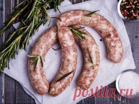 Домашние колбаски: рецепт на скорую руку