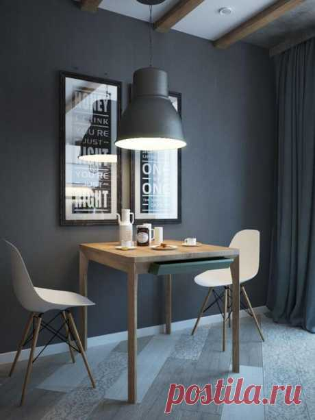Серый цвет в интерьере: 30 идей дизайна ~ ALL-DEKOR.RU