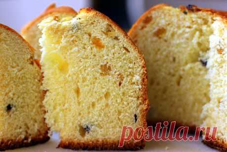 Вкусные рецепты: Итальянский кулич - Панеттоне (Panettone)