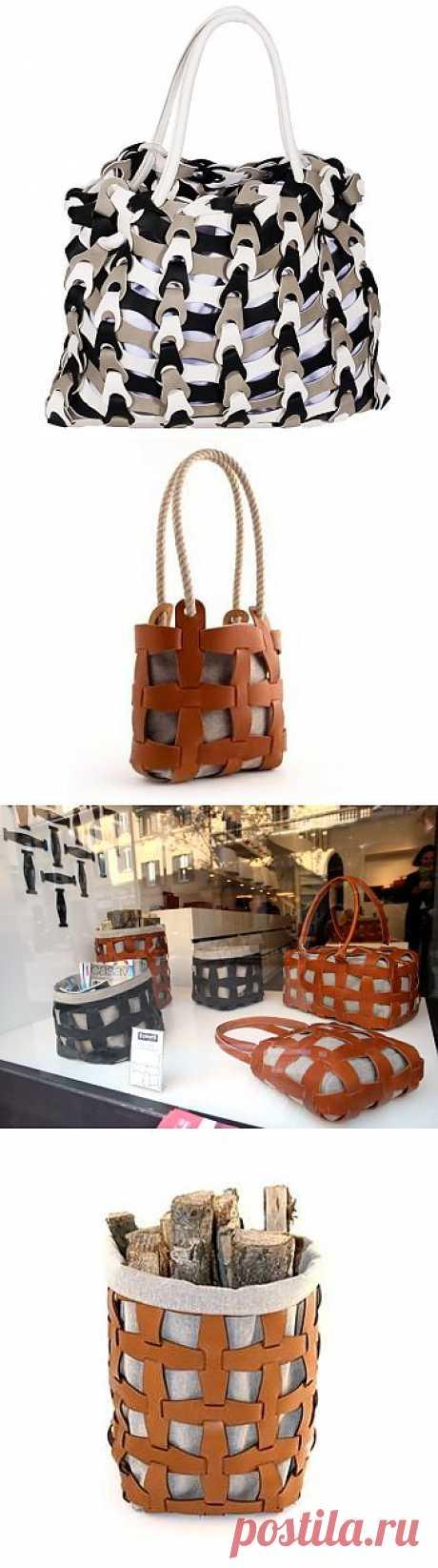 Ручная работа из коллекции Pinetti / Сумки, клатчи, чемоданы / Модный сайт о стильной переделке одежды и интерьера