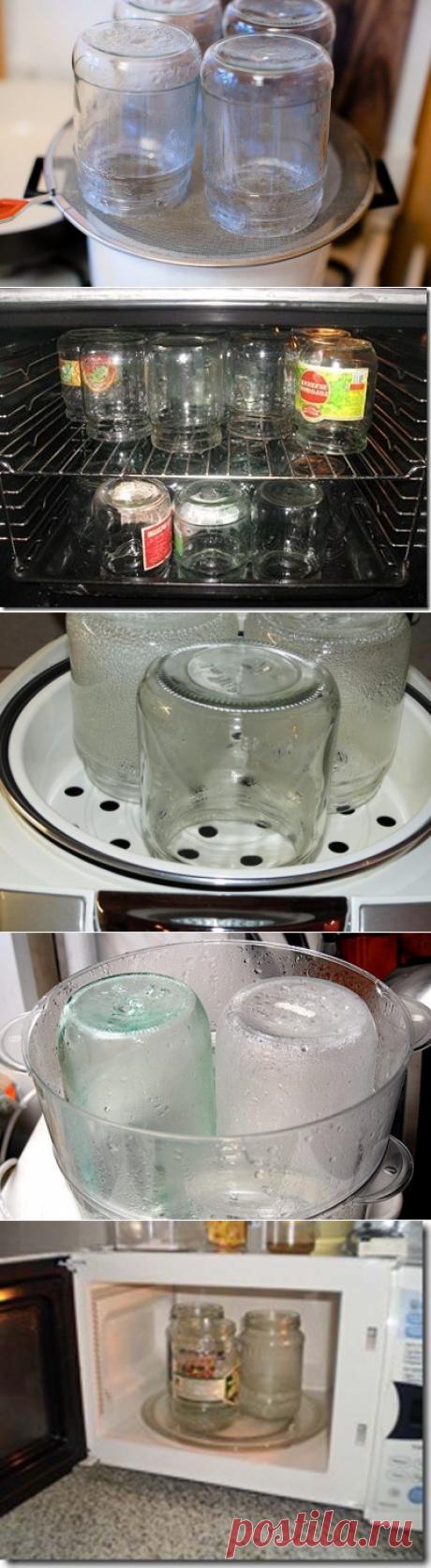 5 способов стерилизации банок