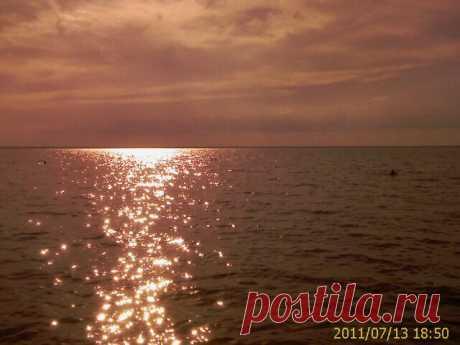 Золото Рыбинского моря.