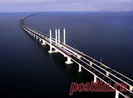 10 самых длинных мостов планеты / Туристический спутник