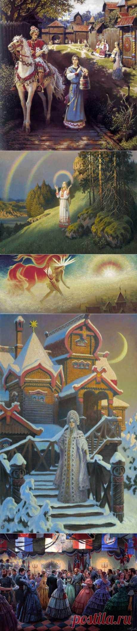 Картины Бориса Ольшанского