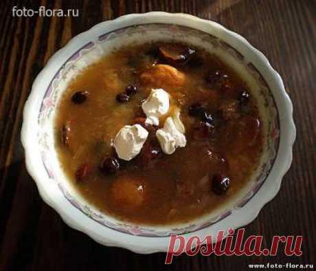 Суп из сухофруктов: рецепт с фото