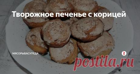 Творожное печенье с корицей Как испечь вкусное творожное печенье в духовке: пошаговый рецепт с фото