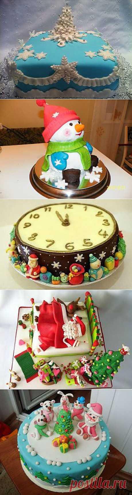 Торт на новый год - Вкусные рецепты что приготовить быстро