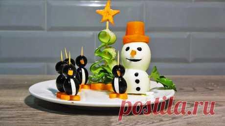 3 варианта сказочного декора на новогодний стол-легко, быстро и невероятно красиво | Мастер Сергеич | Яндекс Дзен