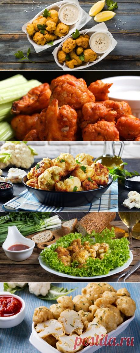 8 крутых рецептов жареной и запечённой цветной капусты в кляре