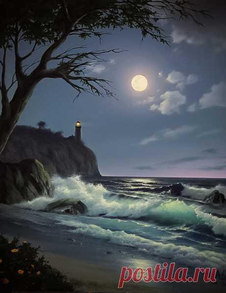 "coiour-my-world:\u000d\u000a\""Moon ~ light ~ house\u000d\u000a\"""