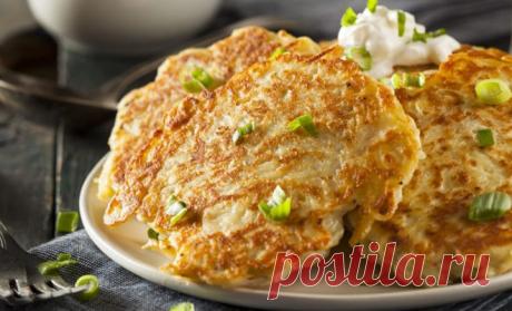 Картофельные оладьи: 4 потрясающих рецепта