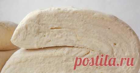 Быстрое слоеное дрожжевое тесто. Быстрое слоеное дрожжевое тесто.