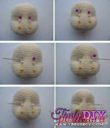 вязание куклы Olga Ostanina простые схемы экономим время на постиле