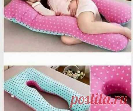 Выкройка подушки для беременных / Беременным : шьем и перешиваем / ВТОРАЯ УЛИЦА