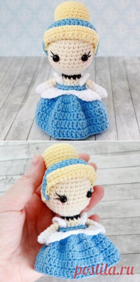 Кукла Золушка крючком: схема и описание вязания   AmiguRoom