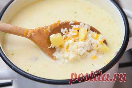 Сырный суп - пошаговый рецепт с фото - как приготовить, ингредиенты, состав, время приготовления - Леди Mail.Ru