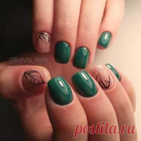Идеи маникюра на короткие ногти / Все для женщины