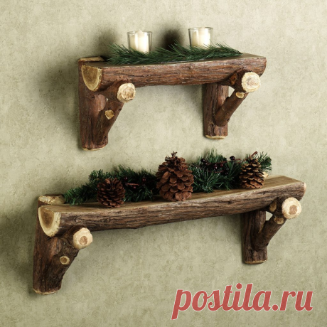 Полки на стену из подручных материалов | 38 рукоделок | Яндекс Дзен