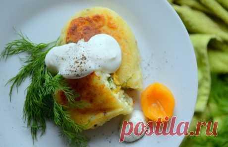 Картофельные котлеты с адыгейским сыром и курагой — Sloosh – кулинарные рецепты
