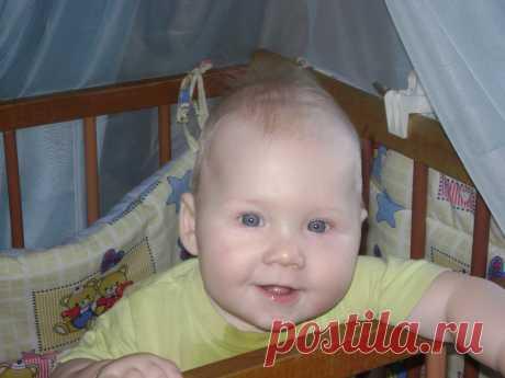 Младший внук Коля.