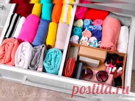 Как правильно складывать одежду?
