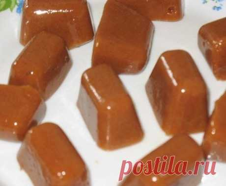 How to prepare toffee toffees on melted milk - the recipe, ingredients and photos