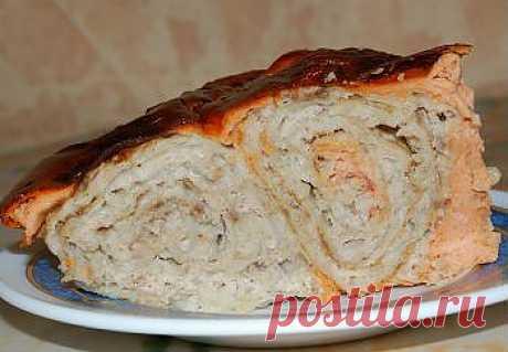 Рецепт мясного пирога из лаваша в мультиварке - Пирог в мультиварке . 1001 ЕДА вкусные рецепты с фото!