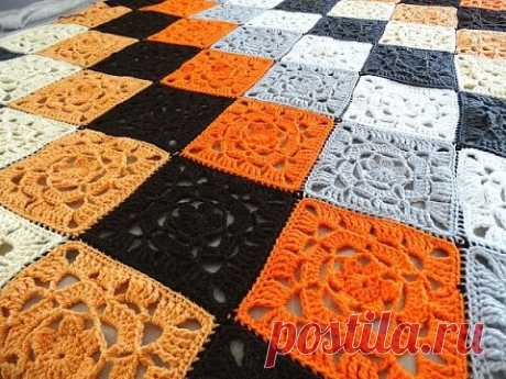 Lacy Flower Granny Square - Crochet Tutorial