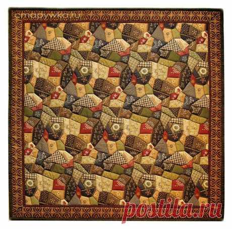Quilt textile rug decorative panel | Etsy