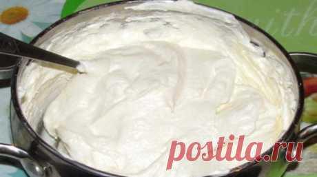 Творожный крем для торта с желатином - lublugotovit.me