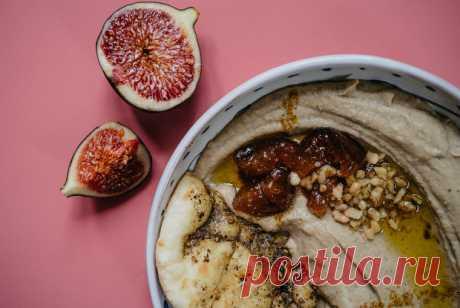 Хумус с инжиром рецепт – арабская кухня, веганская еда: закуски. «Еда»