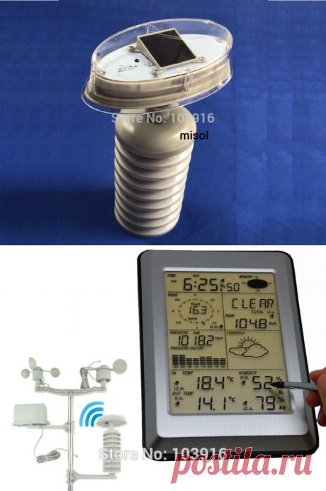 Пластиковый внешний щит для термо гигро датчика, запасная часть для метеостанции (передатчик/термо гигро датчик), с солнечной панелью|Приборы для измерения температуры| | АлиЭкспресс