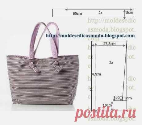 Выкройки сумок для покупок: пакет, шоппер с застежкой, авоська | Самошвейка | Яндекс Дзен