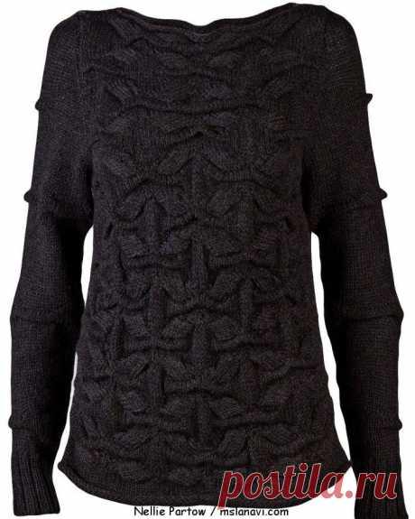 вязаные-модели-Nellie-Partow-свитер