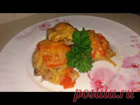 Безумно Вкусный Ужин Мясо по - Французски или Мясо под Шубой