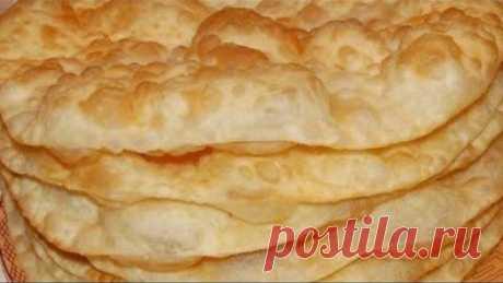 Самое простое Лепёшка. Узбекская лепешка (Чузма) (Шелпек)