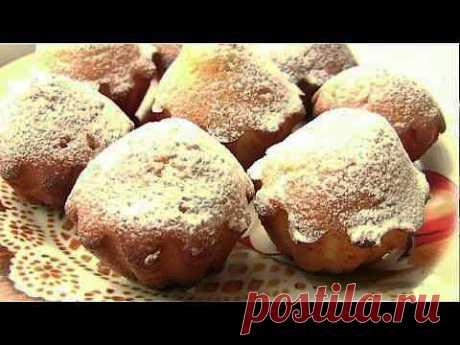 Кексики с изюмом на кефире -vikka.com.ua - YouTube