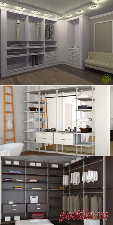 Гардеробные комнаты и шкафы на заказ, цены, фото; купить встроенные и угловые гардеробные в Москве