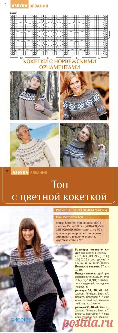 Азбука вязания №10 2016
