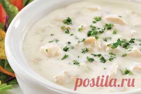 Картофельный чаудер — Sloosh – кулинарные рецепты
