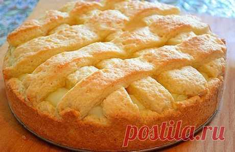 ВКУCНЕЙШИЙ Яблoчный пирог с НЕЖНЕЙШИМ заварным кpемом