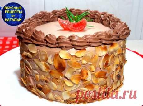 Такого вкусного торта вы еще не ели.Шоколадный торт с вишнями и кремом. Угостите своих родных изумительно вкусным шоколадным тортом с вишнями и шоколадным кремом.Прекрасно подходит к чаю или кофе. ИНГРЕДИЕНТЫ:Для бисквита:Мука – 70 грСахар – 90 грЯйца – 3 штКакао -25 грМолоко – 50 млРастительное масло – 50 млРазрыхлитель – 1 ч.л.Ванильный сахарСоль – щепотка ...